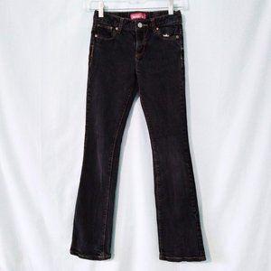 OLD NAVY Black Boot Cut Jeans 12 Slim